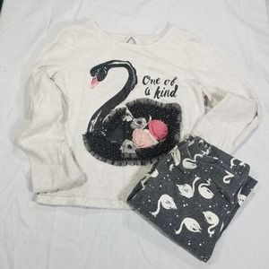 Girls Epic Threads One of Kind Black Swan Outfit 6